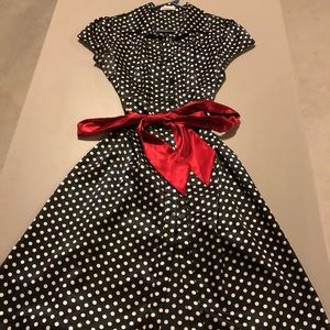 Vintage Forever 21 Button-Down Dress